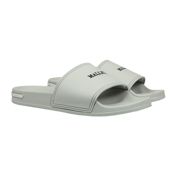 Mallet Mens Grey Slides main image