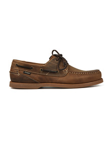 Loake Mens Brown Lymington Boat Shoe