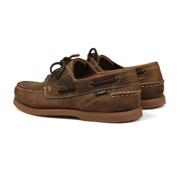 Loake Mens Brown Lymington Boat Shoe main image