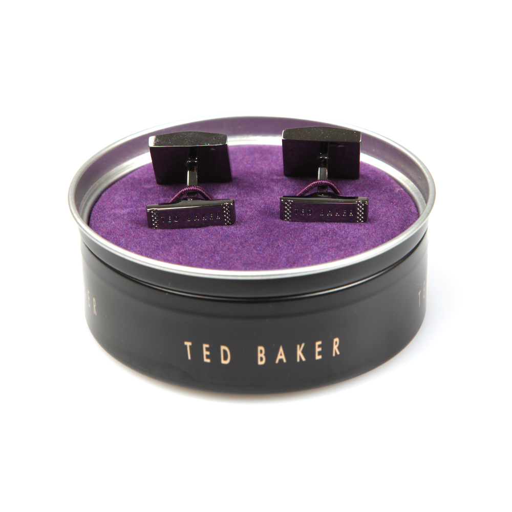 Benched Carbon Fibre Cufflinks main image