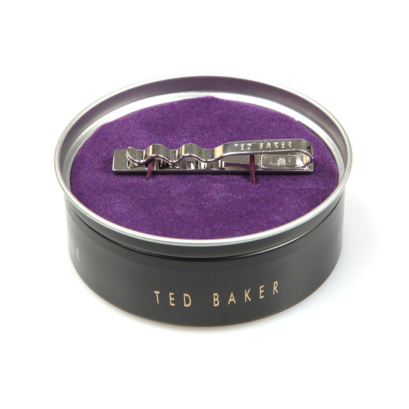 Ted Baker Mens Silver Corner Crystal Tie Bar main image