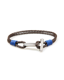 Ted Baker Mens Brown Knurling Bracelet