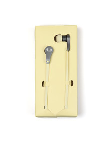Fresh & Rebel Mens Yellow Lace Earbuds