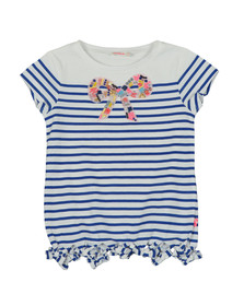 Billieblush Girls Green U15491 Bow Detail T Shirt