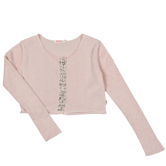Billieblush Girls Pink U15501 Gem Cardigan main image