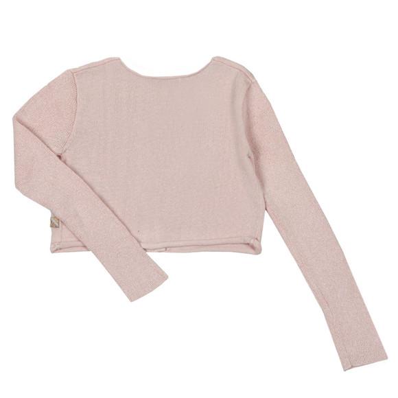 Billieblush Girls Pink U15501 Gem Cardigan