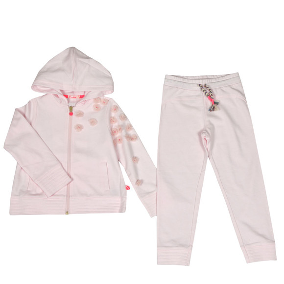 Billieblush Girls Pink Flower Track Suit main image