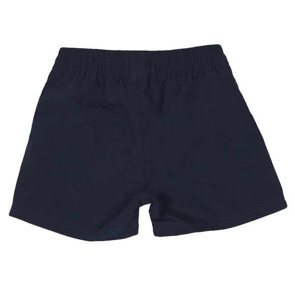 BOSS Boys Blue Baby J04310 Logo Swim Shorts main image