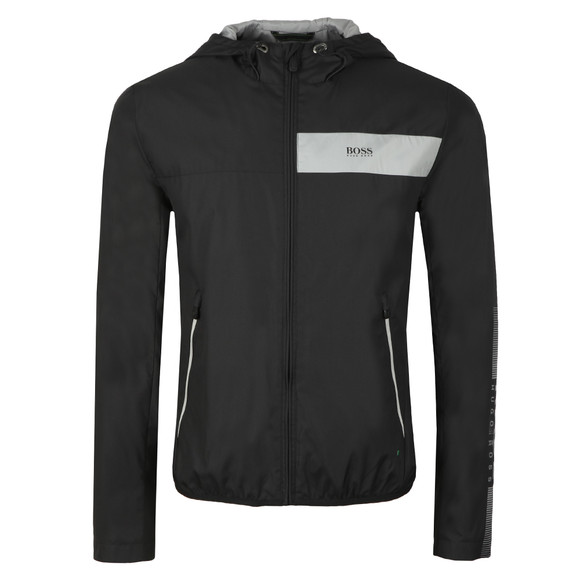 BOSS Mens Black Athleisure Jeltech Reflective Jacket main image