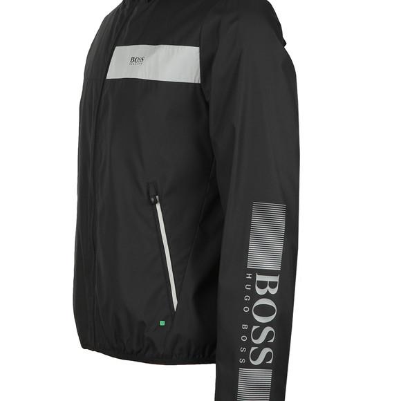 BOSS Green Mens Black Jeltech Reflective Jacket main image