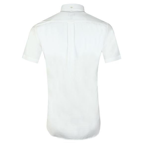 Gant Mens White Broadcloth S/S Shirt main image