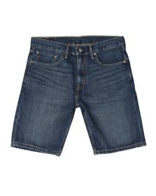 Levi's Mens Blue 502 Hemmed Short