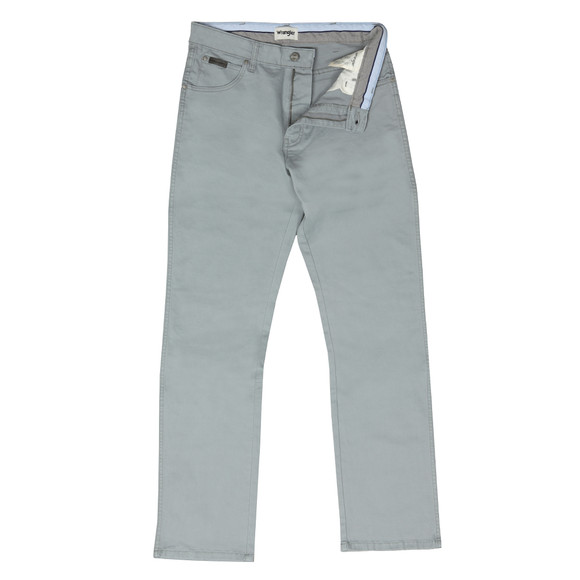 Wrangler Mens Grey Texas Stretch Coloured Jean main image