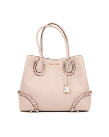 Michael Kors Womens Pink Mercer Gallery Centre Zip Tote