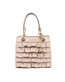 Michael Kors Womens Pink Cynthia Small Satchel