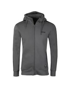 Fresh Couture Mens Grey Full Zip Hoody
