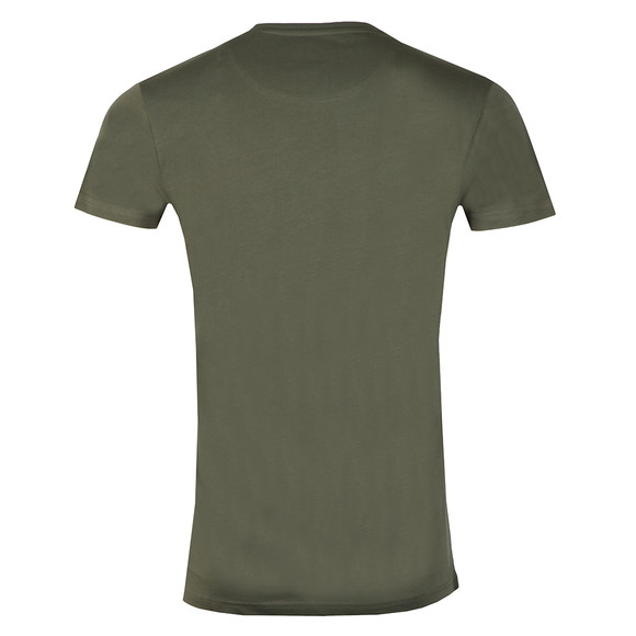 Fresh Couture Mens Green Small Chest Logo T Shirt main image