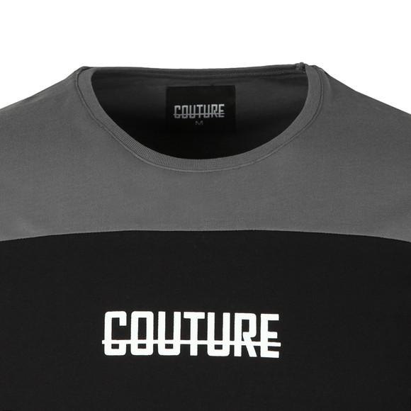 Fresh Couture Mens Grey Block T Shirt main image