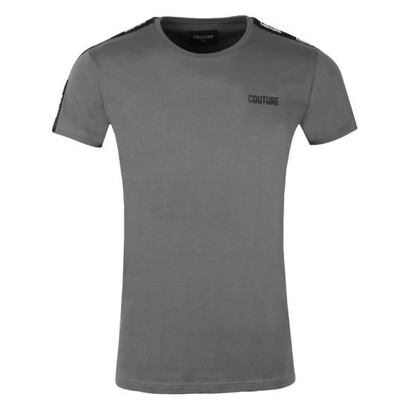 Fresh Couture Mens Grey Taped T Shirt main image
