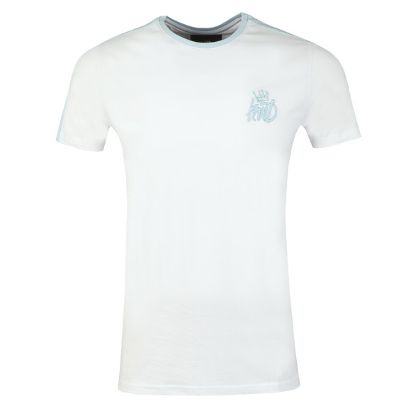 Kings Will Dream Mens White Wexford Panel Tee main image