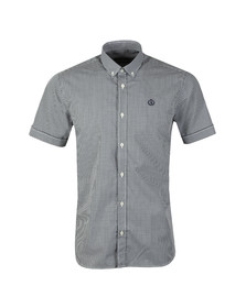 Henri Lloyd Mens Blue Ragnall Gingham S/S Shirt