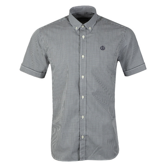 Henri Lloyd Mens Blue Ragnall Gingham S/S Shirt main image