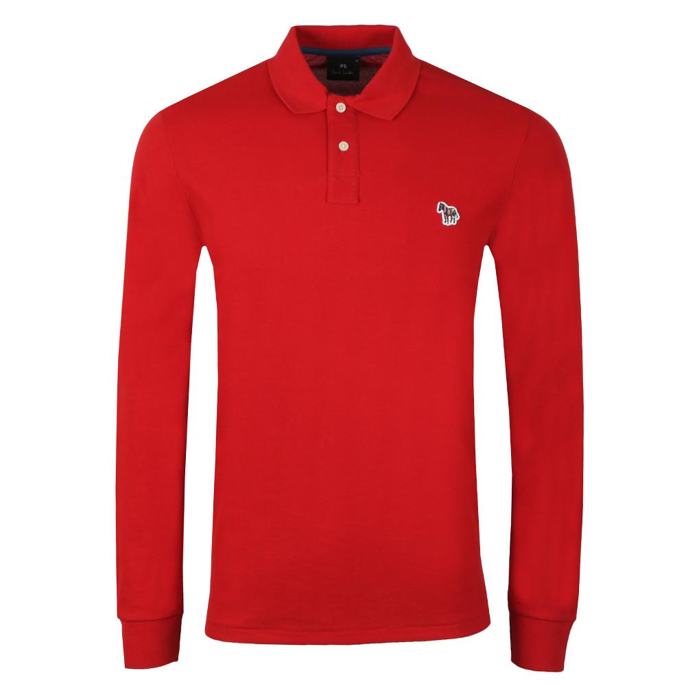 PS Paul Smith Zebra LS Polo Shirt  4e5b8c380eb5