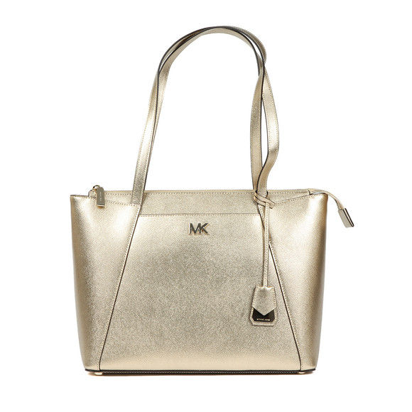Michael Kors Womens Gold Maddie Mid East West Tote Bag main image
