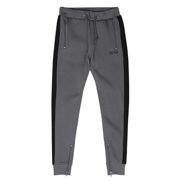 Fresh Couture Mens Grey Slim Jogger main image