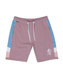 Gym King Mens Pink Retro Jersey Short