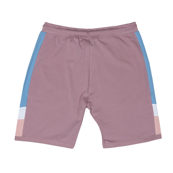 Gym King Mens Pink Retro Jersey Short main image