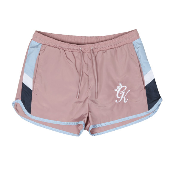 Gym King Mens Pink Retro Swim Short main image