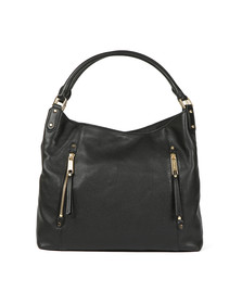 Michael Kors Womens Black Evie Large Shoulder Tote Bag