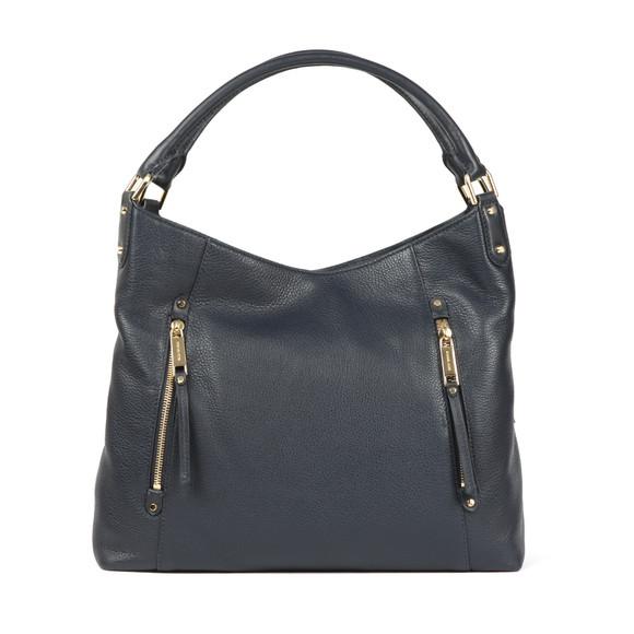 Michael Kors Womens Blue Evie Large Shoulder Tote Bag main image