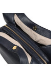 Michael Kors Womens Blue Evie Large Shoulder Tote Bag