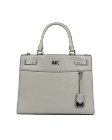 Michael Kors Womens Grey Reagan Large Satchel