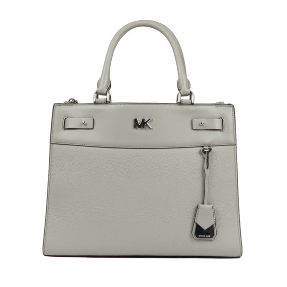 Michael Kors Womens Grey Reagan Large Satchel main image