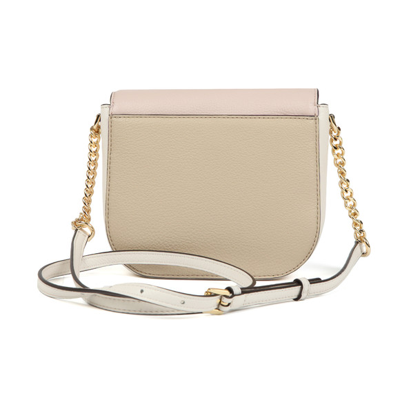 Michael Kors Womens Beige Half Dome Crossbody Bag main image