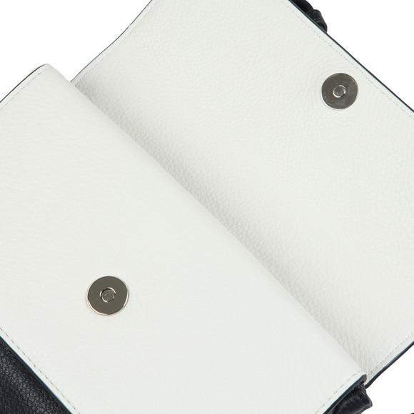 Michael Kors Womens Blue Mid Triple Flap Crossbody main image