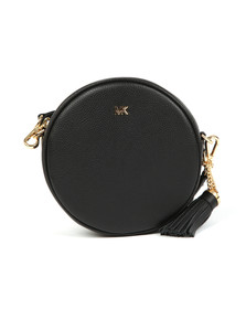 Michael Kors Womens Black Crossbody Mid Canteen Bag