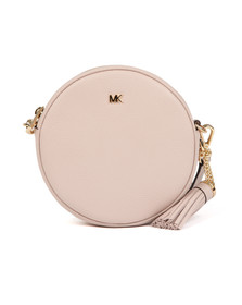 Michael Kors Womens Pink Crossbody Mid Canteen Bag