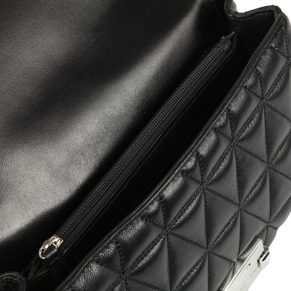 Michael Kors Womens Black Sloan Large Chain Shoulder Bag main image