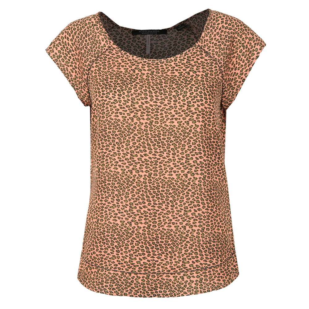 Short Sleeve Top With Special Stitch Detail main image