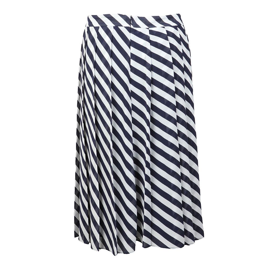 Graphic Bias Stripe Skirt main image