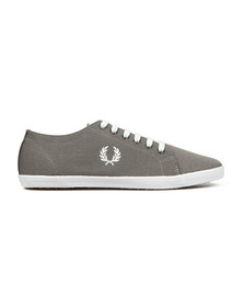 Fred Perry Mens Black Kingston Two Tone Plimsole