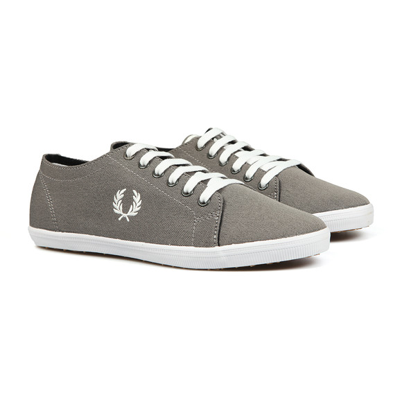 Fred Perry Mens Black Kingston Two Tone Plimsole main image
