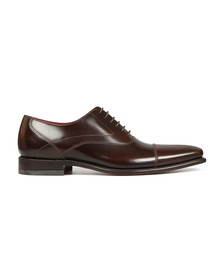Loake Mens Brown Sharp Polished Toe Cap Shoe
