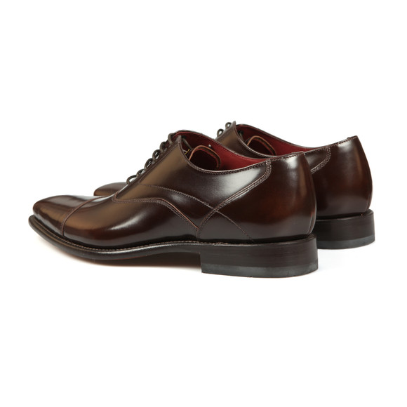 Loake Mens Brown Sharp Polished Toe Cap Shoe main image