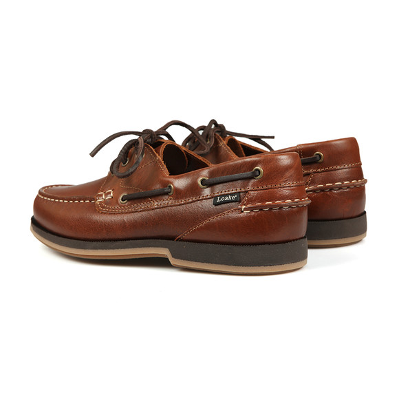 Loake Mens Brown 521T2 Boat Shoe main image