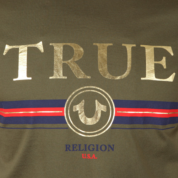 True Religion Mens Green True T Shirt main image